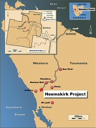 Heemskirk Tin Project
